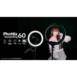 產品訊息 - Phottix  Nuada Ring 60 環形LED燈