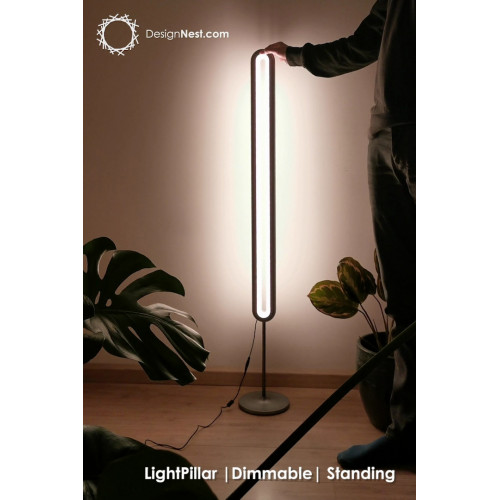 LightPillar | Dimmable + Remote | Standing (Grey)